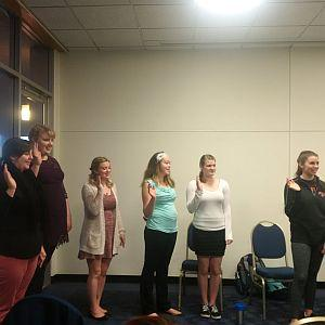 NRHH Spring 17 Induction Ceremony