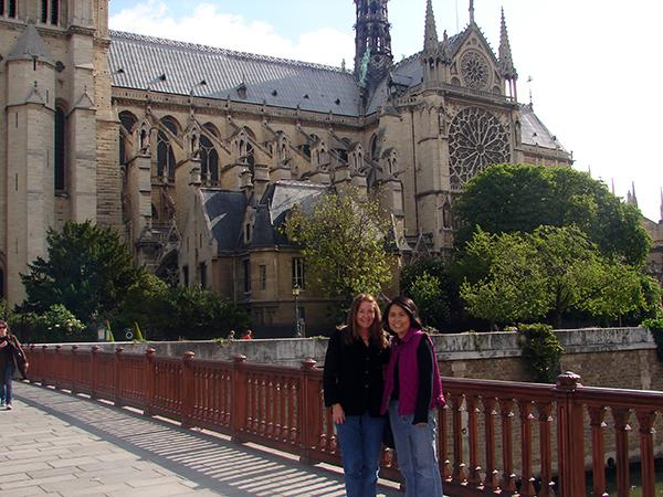 2006: Spain and France with friend/colleague Joonok Huh