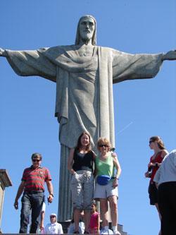2009: Brazil (Rio de Janeiro; O Cristo Redentor)