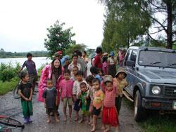 2008: Mae Sot, Thailand (Burmese Refugees at City Dump)