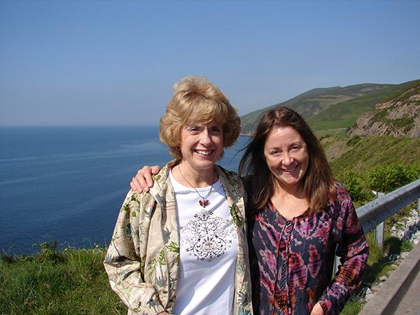2007: Ireland with my sister, Karen
