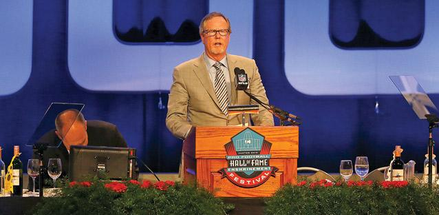 The Professional Football Writers of America selected Ed Werder as the winner of the 2017 Dick McCann Award, given annually to honor reporters with distinguished careers covering the sport. Werder accepts the award at the Hall of Fame Enshrinement ceremony in Aug. 5 in Canton, Ohio.