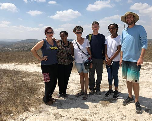 The team at Tel Maresha