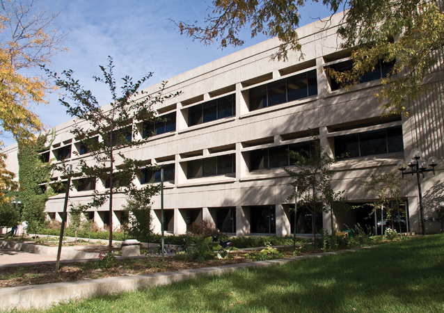 Built in 1973, Candelaria Hall is home to the College of Humanities and Social Sciences, offering more than 40 undergraduate degrees ranging from Africana Studies to Spanish.