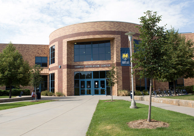 Added to campus in 1995, the Campus Recreation Center contains three multipurpose gyms, two group fitness rooms, exercise equipment, a climbing wall, a suspended track and UNC's indoor swimming pool.