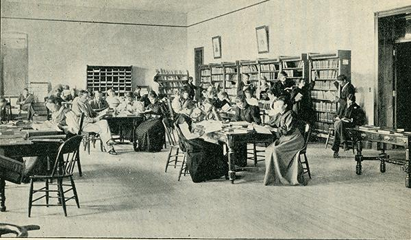 Literary Laboratory, Colorado State Normal School, 1894-95