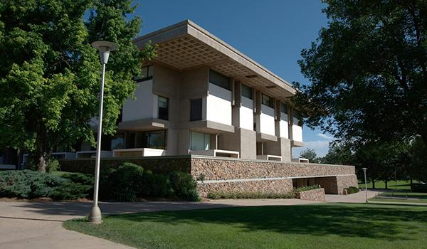 James A. Michener Library exterior