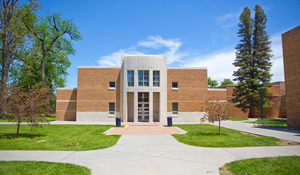 Howard Skinner Music Library exterior