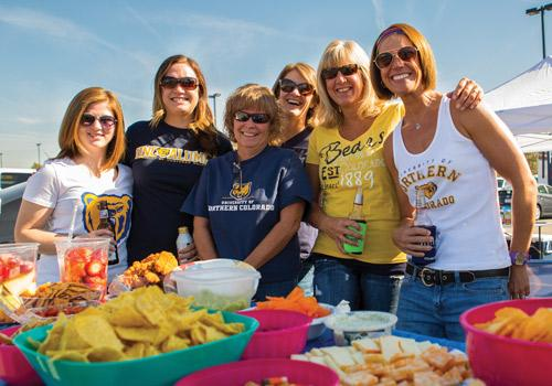 It's just not homecoming without sharing a great tailgating spread with friends, family and fellow Bears.
