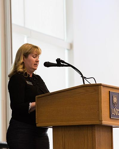 Dr. Christine Marston, College of Humanities & Social Sciences Associate Dean