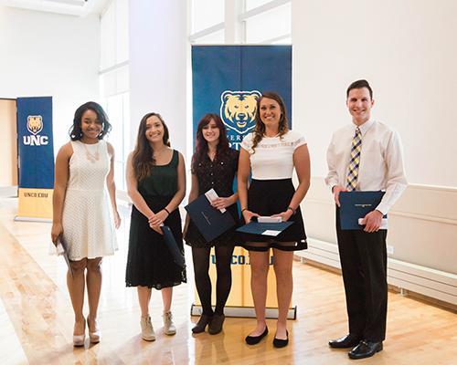 Journalism & Mass Communications program student recognition award winners