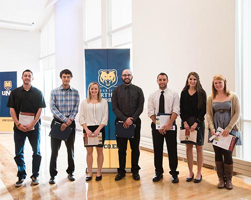 Communication Studies program student recognition award winners