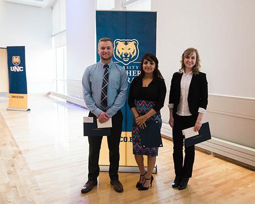 International Affairs program student recognition award winners