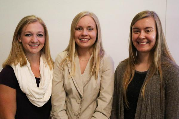 Student scholars from Nutrition and Dietetics