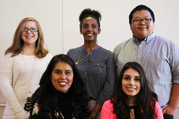 Student scholars from Human Services