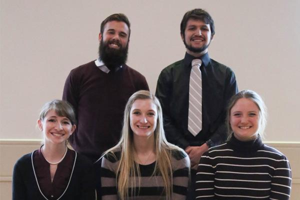 Student scholars from Chemistry and Biochemistry