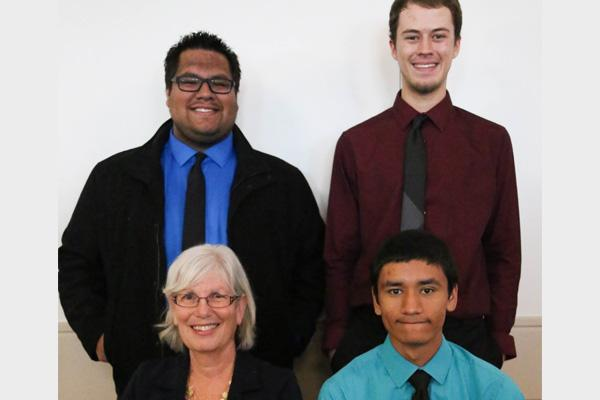 Student scholars from Earth and Atmospheric Sciences