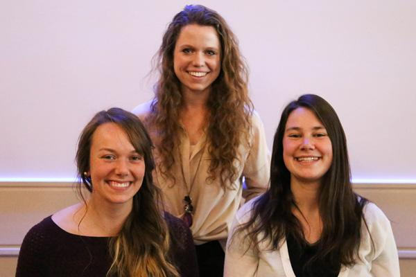 Student scholars from Audiology and Speech-Language Sciences