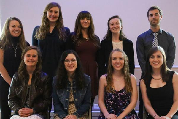 Student scholars from Biological Sciences