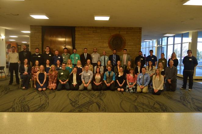 All Students presenting posters for the 12th Annual Student Research Celebration