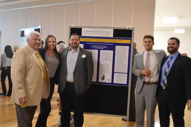 Advisory Board Members and Sport and Exercise Science majors