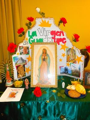 Virgen de Guadalupe: Lisa Tapia, Irma Sandoval, Kacey Hilgenberg, Perla Ortega