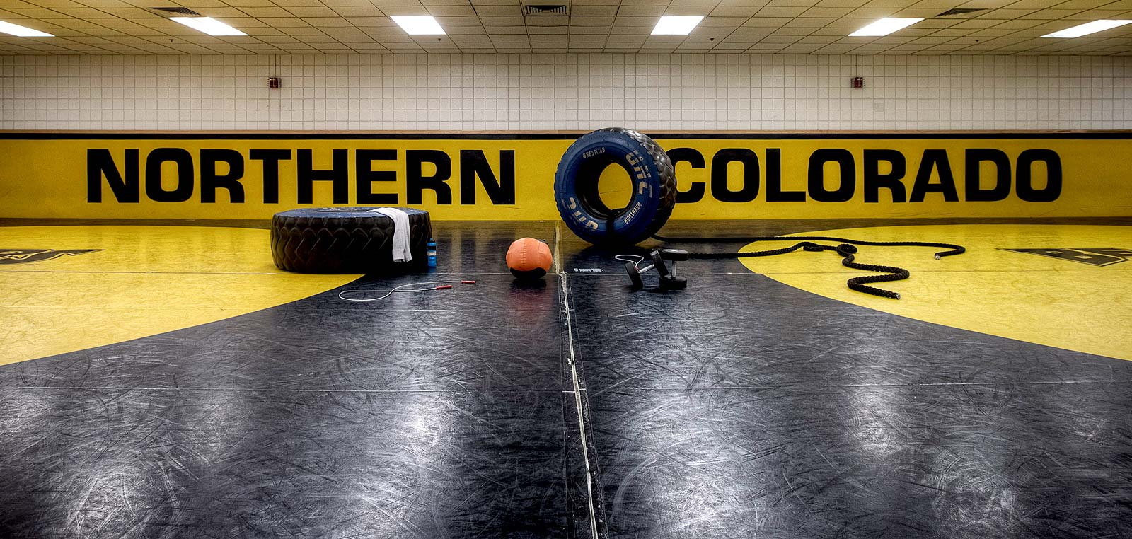 Harry W. Brown Wrestling Room