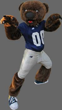 Current UNC Mascot, Klawz