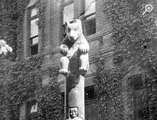 View of Totem Teddy
