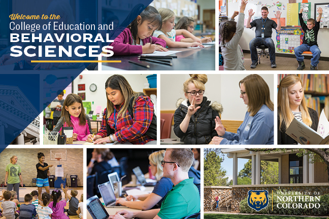 College of Education and Behavioral Sciences Brochure Cover