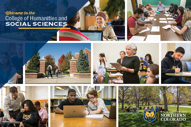 College of Humanities and Social Sciences Brochure Cover