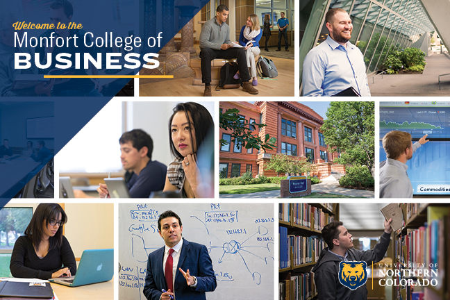 Monfort College of Business Brochure Cover