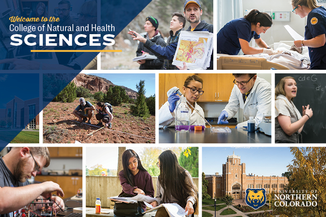 College of Natural and Health Sciences Brochure Cover