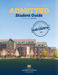 Admitted Student Guide Cover