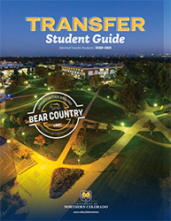 Transfer Admitted Student Guide Cover