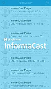 InformaCast app screenshot