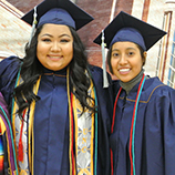 Cumbres graduates in commencement robes