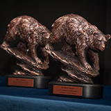 Honored Alumni Bear Award