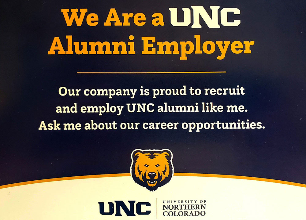 Alumni Employer Sign
