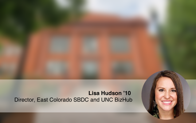 Lisa Hudson Director East Colorado SBDC