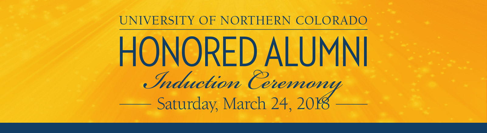 Honored Alumni Ceremony March 24