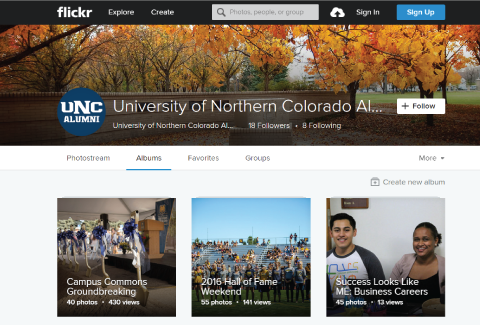 UNC Alumni on Flickr