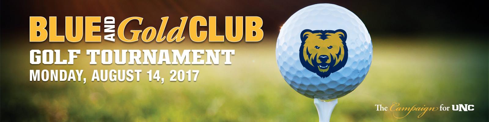 Blue and Gold Club Golf Tournament