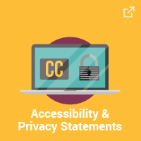 Accessibility & Privacy Statements