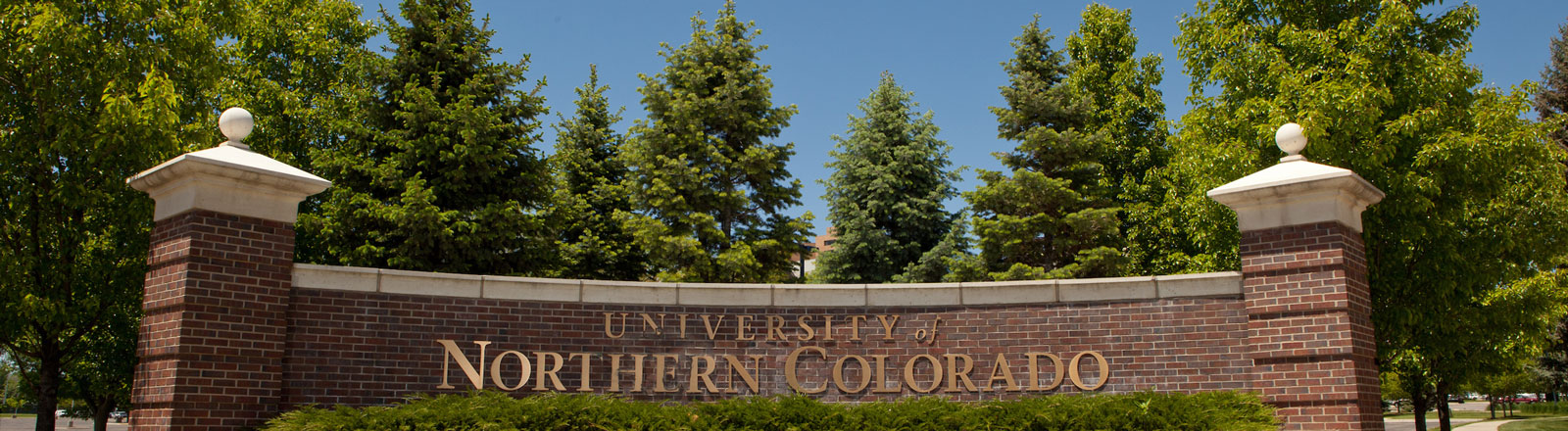 University of Northern Colorado Sign