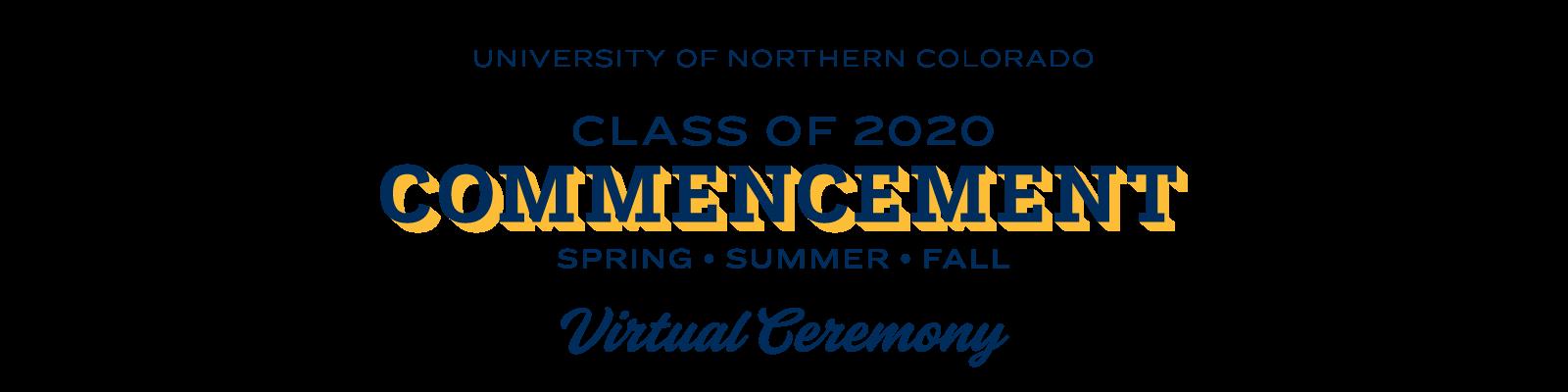 Virtual Commencement 2020