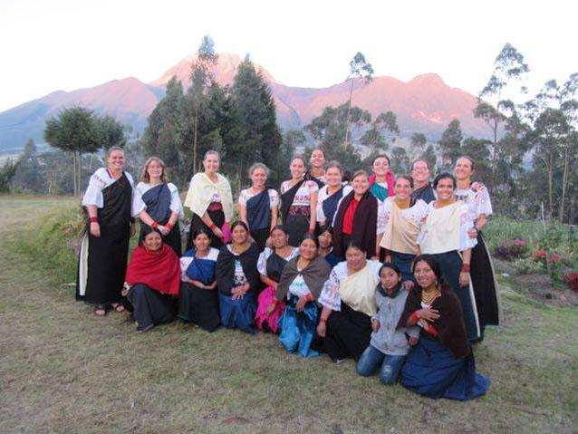 Women in the Agato community