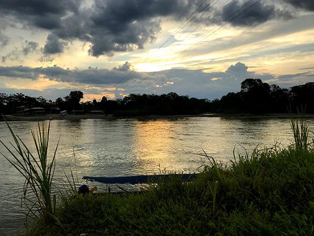 Along the Napo River