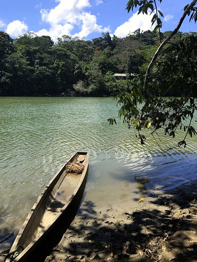 Amazon canoe