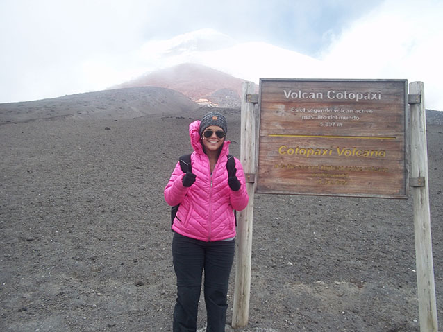 Lucero on Cotopaxi